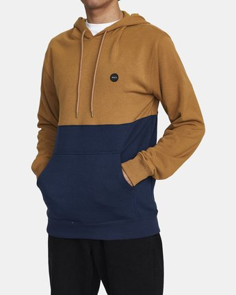 1 CARSON HOODIE Brown AVYFT00116 RVCA