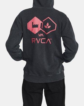 2 MAGHURST HOODIE Black AVYFT00125 RVCA