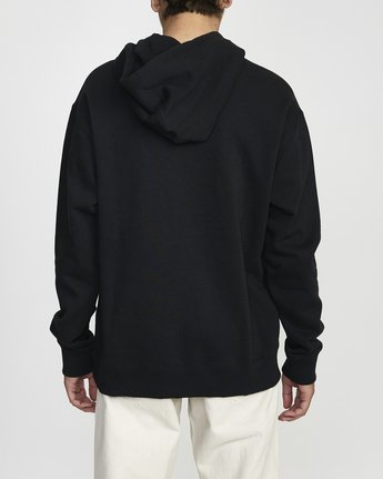 2 BAKERVCA PHOTO HOODIE Black AVYFT00140 RVCA