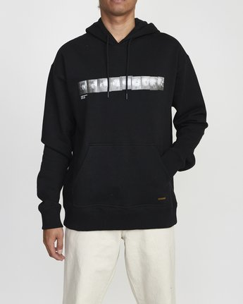 1 BAKERVCA PHOTO HOODIE Black AVYFT00140 RVCA