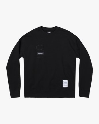 0 DPM CREW SWEATSHIRT Orange AVYFT00145 RVCA