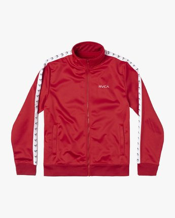 0 NORE TRACK JACKET Brown AVYFT00155 RVCA