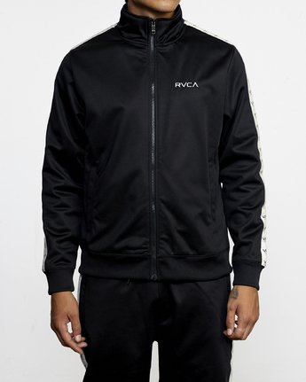 2 NORE TRACK JACKET Orange AVYFT00155 RVCA