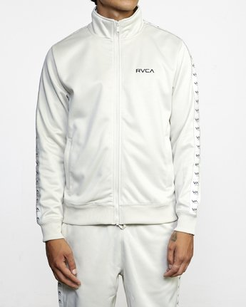 1 NORE TRACK JACKET Silver AVYFT00155 RVCA
