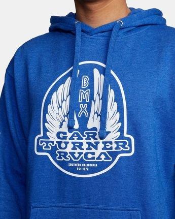 3 Gary Turner Sweatshirt Blue AVYFT00229 RVCA