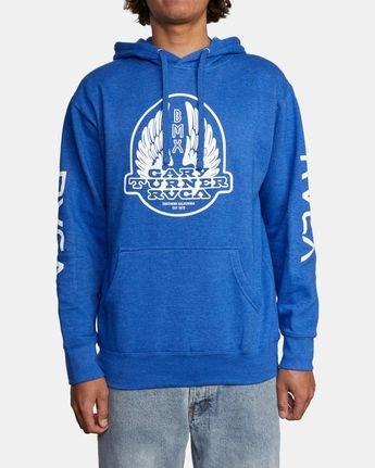 1 Gary Turner Sweatshirt Blue AVYFT00229 RVCA