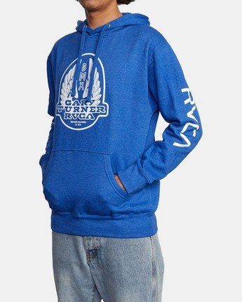 4 Gary Turner Sweatshirt Blue AVYFT00229 RVCA