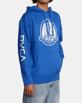 5 Gary Turner Sweatshirt Blue AVYFT00229 RVCA