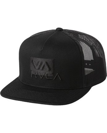 0 BLENDED TRUCKER HAT  AVYHA00110 RVCA