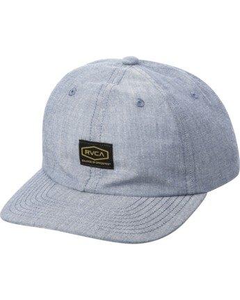 0 DAYSHIFT SNAPBACK HAT White AVYHA00130 RVCA