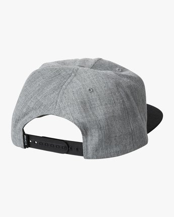 1 BACKLIT SNAPBACK HAT Grey AVYHA00139 RVCA