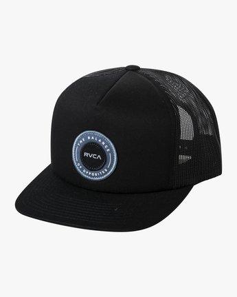 0 CENTERS TRUCKER HAT Black AVYHA00143 RVCA