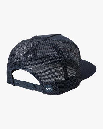 1 PIER TRUCKER HAT Blue AVYHA00151 RVCA
