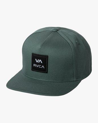 0 RVCA SQUARE SNAPBACK HAT Purple AVYHA00152 RVCA
