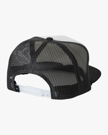 1 STAPLE FOAMY TRUCKER HAT Black AVYHA00153 RVCA