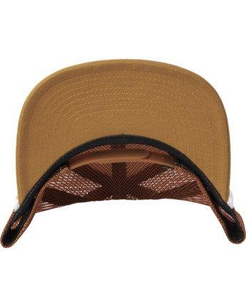 3 STAPLE FOAMY TRUCKER HAT Multicolor AVYHA00153 RVCA