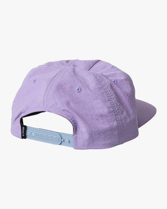 1 SWIRLS SNAPBACK HAT Purple AVYHA00157 RVCA