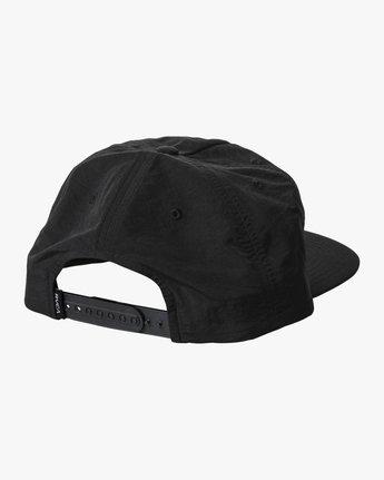 1 YING YANG SNAPBACK HAT Black AVYHA00158 RVCA