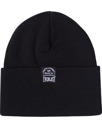 1 EVERLAST X SMITH STREET SPORT BEANIE Black AVYHA00162 RVCA