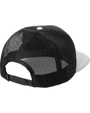 1 NIHOA TRUCKER HAT Black AVYHA00175 RVCA