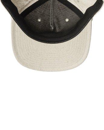 3 MAIN SNAPBACK HAT White AVYHA00184 RVCA
