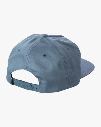 1 MAIN SNAPBACK HAT Grey AVYHA00184 RVCA