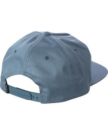 2 MAIN SNAPBACK HAT Grey AVYHA00184 RVCA