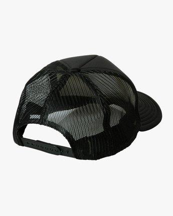 1 Gary Turner Trucker Hat Black AVYHA00281 RVCA