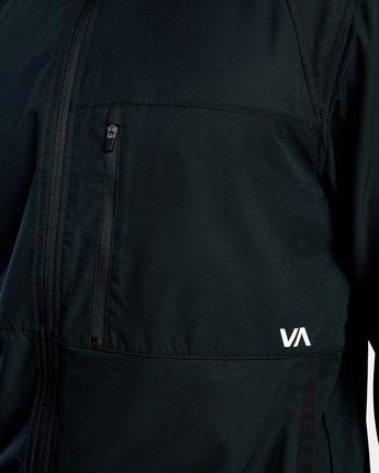 3 YOGGER TRACK JACKET II Black AVYJK00123 RVCA