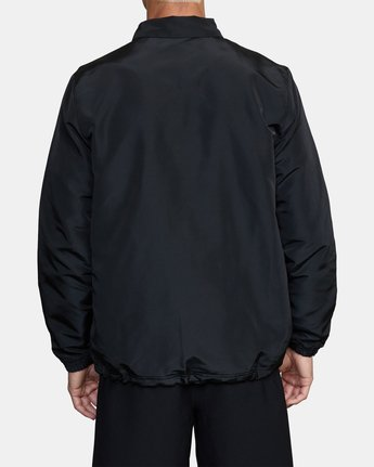 2 Parillo Boxing Coaches Jacket Black AVYJK00129 RVCA