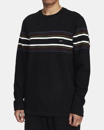 3 NETWORK LONG SLEEVE SHIRT Black AVYKT00103 RVCA