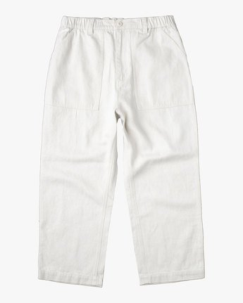 0 NEUTRAL HEMP RELAXED FIT PANT Silver AVYNP00103 RVCA