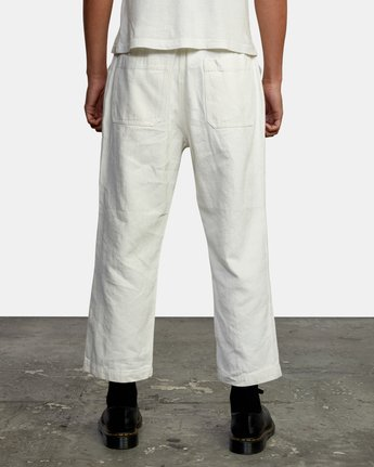 2 NEUTRAL HEMP RELAXED FIT PANT Silver AVYNP00103 RVCA