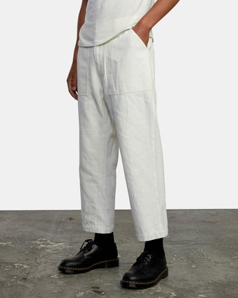 4 NEUTRAL HEMP RELAXED FIT PANT Silver AVYNP00103 RVCA