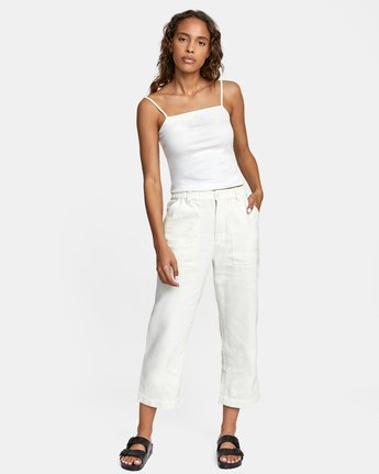 6 NEUTRAL HEMP RELAXED FIT PANT  AVYNP00103 RVCA