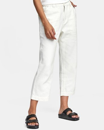 9 NEUTRAL HEMP RELAXED FIT PANT Silver AVYNP00103 RVCA