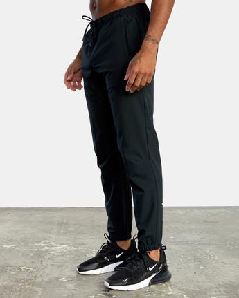 5 YOGGER STRETCH TRACK PANT Black AVYNP00109 RVCA