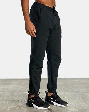 7 YOGGER STRETCH TRACK PANT Black AVYNP00109 RVCA