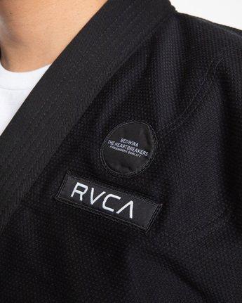 8 RVCA X Bedwin X Shoyoroll Gi Black AVYNP00112 RVCA