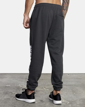 4 Heavyweight Sweatpant Black AVYNP00113 RVCA