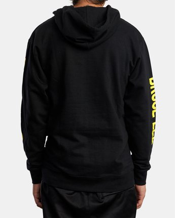 2 BRUCE LEE AS YOU THINK PULLOVER HOODIE Black AVYSF00108 RVCA