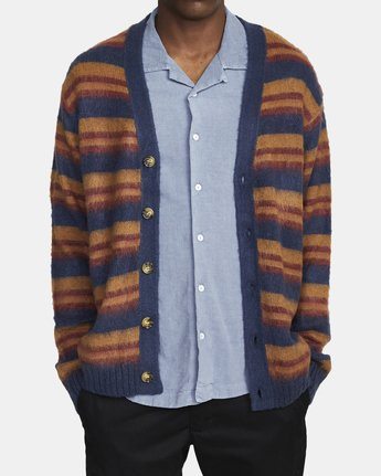 1 NOAH CARDIGAN sweater Blue AVYSW00100 RVCA
