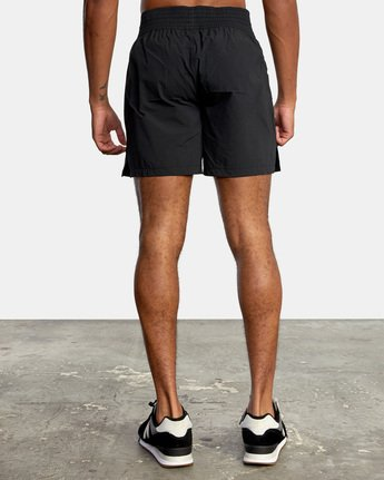 "2 Thai Training Short 18"" Black AVYWS00125 RVCA"