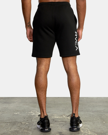 "2 VA SPORT IV SWEAT SHORT 19"" Black AVYWS00135 RVCA"