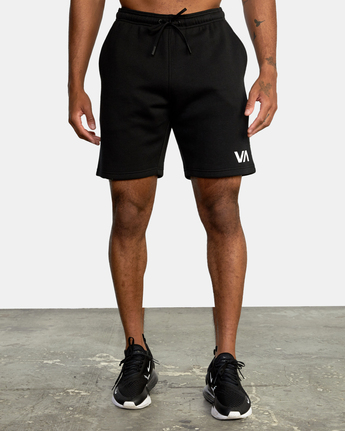 "1 VA SPORT IV 17"" SWEAT SHORT Black AVYWS00135 RVCA"