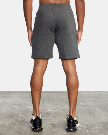 "2 VA SPORT IV 19"" SWEAT SHORT Grey AVYWS00135 RVCA"