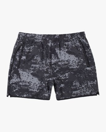 "0 YOGGER 15"" STRETCH SPORT SHORT Blue AVYWS00140 RVCA"