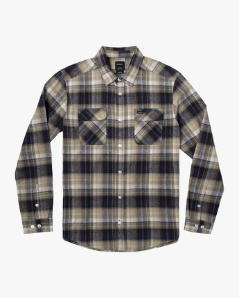 5 EMERSON FLANNEL LONG SLEEVE SHIRT Blue AVYWT00134 RVCA