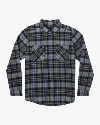 5 OPERATOR FLANNEL LONG SLEEVE SHIRT Multicolor AVYWT00137 RVCA