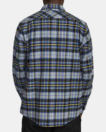 3 OPERATOR FLANNEL LONG SLEEVE SHIRT Multicolor AVYWT00137 RVCA